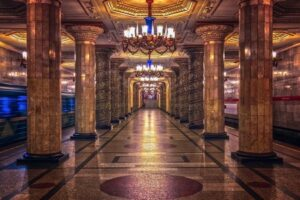 Curious facts about Petersburg's underground!
