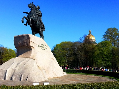 Saint-Petersburg Reminiscences, Chapter 1: Arrival to Saint-Petersburg