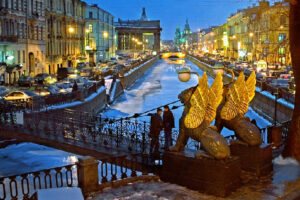 Saint-Petersburg - city of light